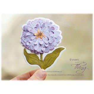 Joy!Crafts Snij-debosstencil - Aster Duchess