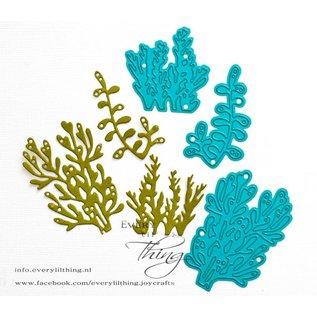 Joy!Crafts Snijstencil - Under the sea - Koraal