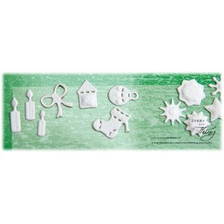 Joy!Crafts Snij-en Embosstencil kerst symbolen (2st)