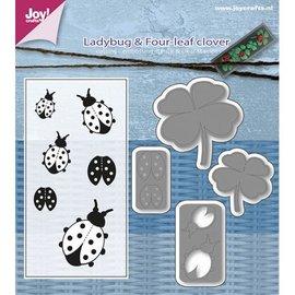 Joy!Crafts SE stencil/Stempel Meryl - Lieveheersbeestje/Klav4