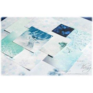 Joy!Crafts Papierset - Siberian Snow