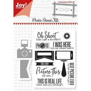 Joy!Crafts Scrap Snijstencils & Stempels - Photo Shoot Kit