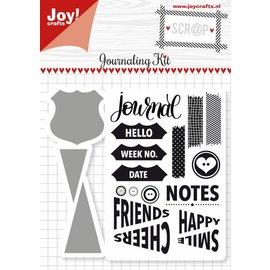 Joy!Crafts Scrap Snijstencils & Stempels - Journaling Kit