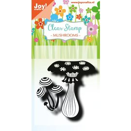 Joy!Crafts Clearstempel - LH - Paddestoelen 2