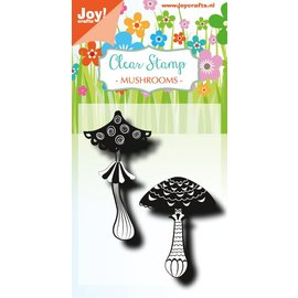 Joy!Crafts Clearstempel - LH - Paddestoelen 1