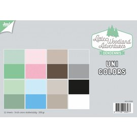 Joy!Crafts Papierset - LWA - Uni Colors