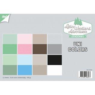 Joy!Crafts Papierset - LWA - Uni Colors