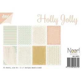 Joy!Crafts Papierset - Holly Jolly