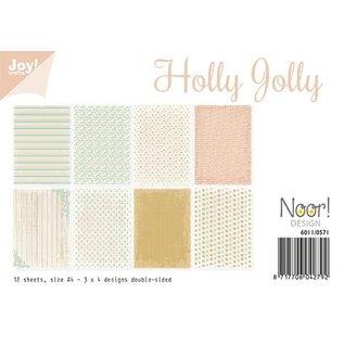 Joy!Crafts Papierset - Holly Jolly