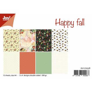 Joy!Crafts Papierset - Happy Fall/Mushroom Autumn