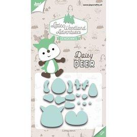 Joy!Crafts Snijstencils - LWA - Daisy Deer (Hert)