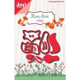 Joy!Crafts Snijstencil - Mon Ami - Vosje