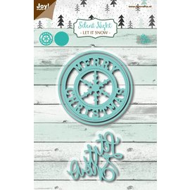 Joy!Crafts Snijstencils - Silent Night - Let it snow