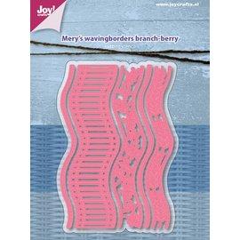Joy!Crafts Snijstencils - Mery's Golfborders - tak-bes