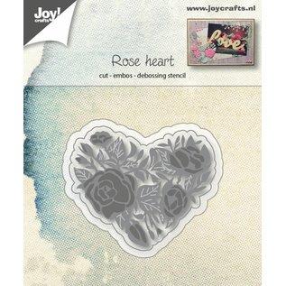 Joy!Crafts Snij-embos-debosstencil - Rozenhart