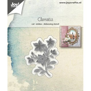 Joy!Crafts Snij-embos-debosstencil - Clematis