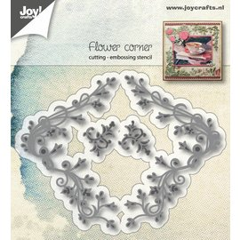 Joy!Crafts Snij-embosstencils - Hoek siertak