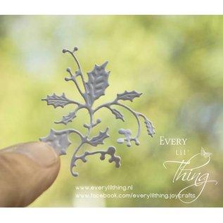 Joy!Crafts Snij-embos-debosstencil - Krans met vink