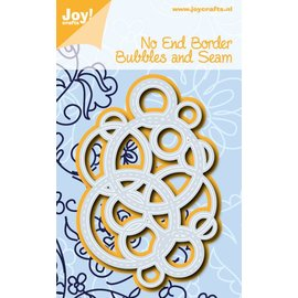 Joy!Crafts Snijstencil - No end - Bubbels and stiksels