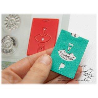 Joy!Crafts Snij-embosstencil/Stempel  - Parkeerkaart