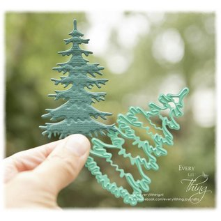 Joy!Crafts Snijstencil - Silent Night - Kerstboom
