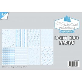 Joy!Crafts Papierset - LWA - Design Light Bleu