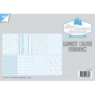Joy!Crafts Papierset - LWA - Design Light Bleu