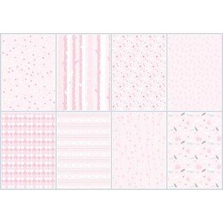 Joy!Crafts Papierset - LWA - Design Light Pink