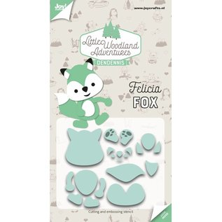 Joy!Crafts Snij-embosstencils -LWA -Felicia Fox (Vos)