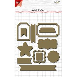 Joy!Crafts Snijstencils - Noor - One of a kind - Labels assorti