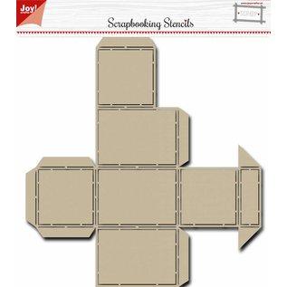 Joy!Crafts Scrap Box Stencil - Noor -  Candy Dispenser