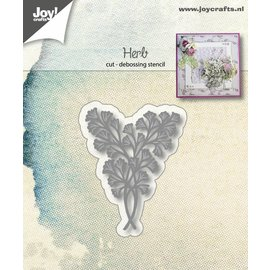 Joy!Crafts Snij-debosstencil - Kruidblad
