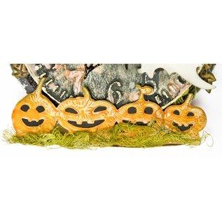 Joy!Crafts Snij-embosstencil - Noor - Rand Halloweenpompoenen
