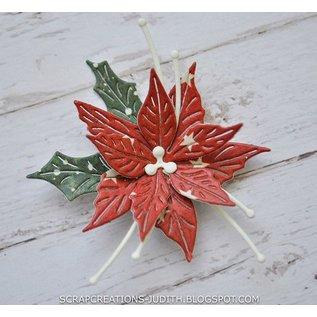 Joy!Crafts Snij-embosstencil - HH - Poinsettia