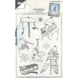 Joy!Crafts Clearstamp - Winterfun