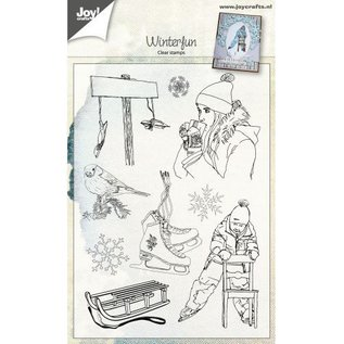 Joy!Crafts Clearstamp - Winterfun