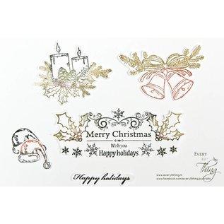 Joy!Crafts Clear stempel - Kerst hulst