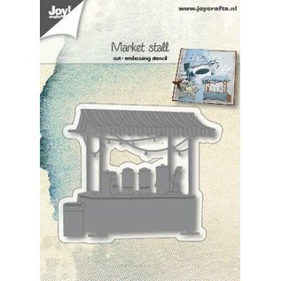 Joy!Crafts Cut-embossdie - Marketstand with hot drinks