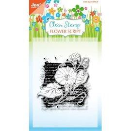 Joy!Crafts Clearstamp - Flower script