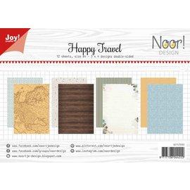 Joy!Crafts Paperset -  Happy Travel