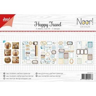 Joy!Crafts Design die-sheets set - Happy Travel