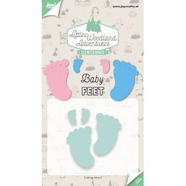Joy!Crafts Cuttingdies - LWA - Babyfeet