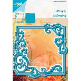 Joy!Crafts Cut-embossdie - Noor -  Swirlsquare