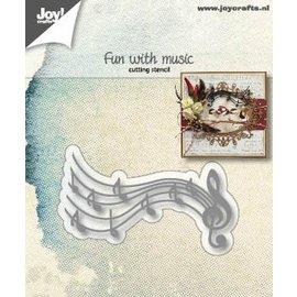 Joy!Crafts Cuttingdies - Fun with music