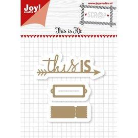 Joy!Crafts Scrap - Cuttingdies - Noor - This is Kit