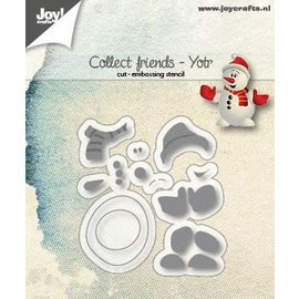 Joy!Crafts Cut-embossdie - Collect Friends - Yotr