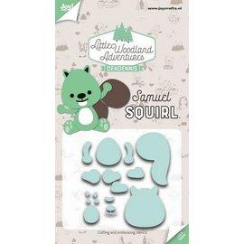 Joy!Crafts Cut-embossdies - Samuel Squirl