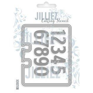 Jilliez Jilliez stansmal bestaande uit 3 formaten plus als bonus stansmallen met cijfers!