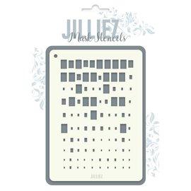 Jilliez Jilliez Mask Stencil blokjes