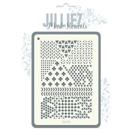 Jilliez Jilliez Mask Stencil  mix